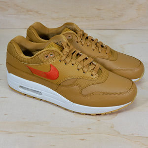 New Nike Air Max 1 PRM Wheat Orange Shoes